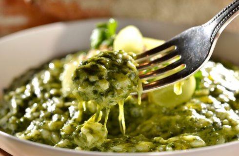 Risotto borragine e gorgonzola, la ricetta facile