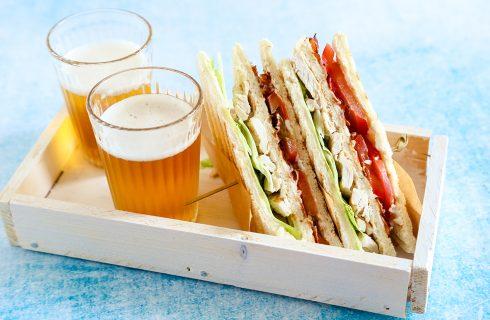 Sandwich di pollo: fresco e goloso