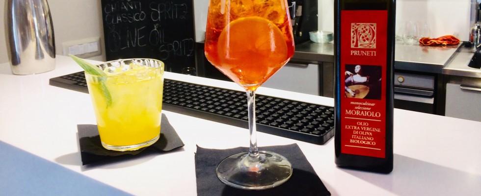 Tendenze: i cocktail all'olio extravergine di oliva