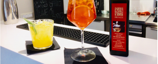 Tendenze: i cocktail all'olio extravergine