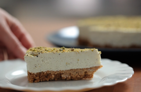 Cheesecake al pistacchio: dolce fresco per l'estate