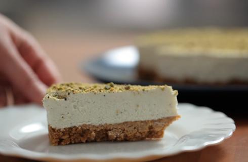 Cheesecake al pistacchio: dolce fresco per l'estate