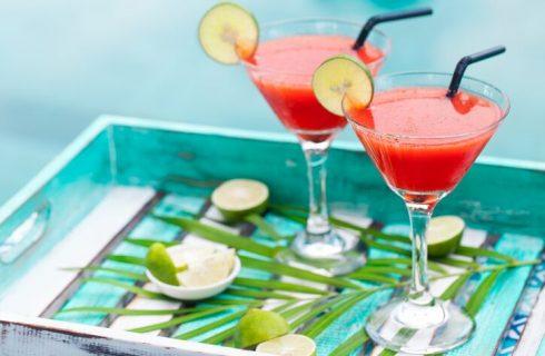 Cocktail all'anguria e prosecco, la ricetta per l'aperitivo