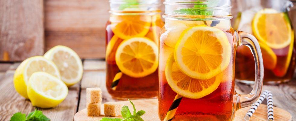 Il tè adesso si beve (anche) frizzante