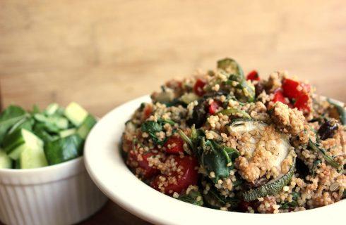 La ricetta del cous cous con pesto e verdure