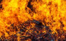 Un incendio divora 45k barili di bourbon