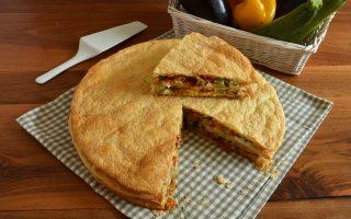 Millefoglie di verdure: secondo piatto freddo e sfizioso