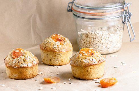 Muffin con mandorle e albicocche, la ricetta facile per la colazione
