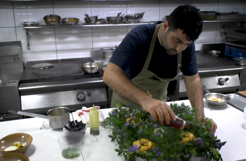 Prateek: lo chef che viene dal Kashmir