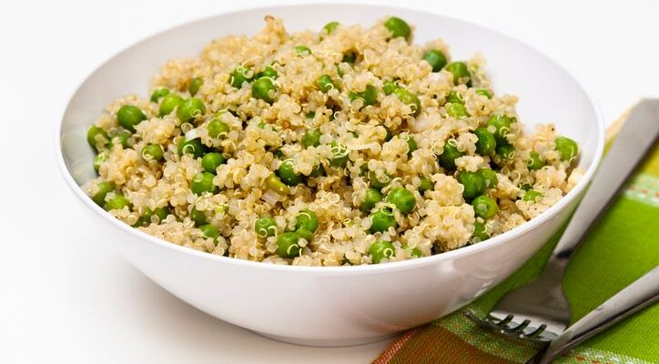 Ricetta Quinoa Con Tonno E Verdure.Come Preparare La Quinoa Con Piselli E Tonno Gustoblog