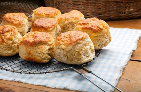 Gli scones salati con la ricetta di Benedetta Parodi