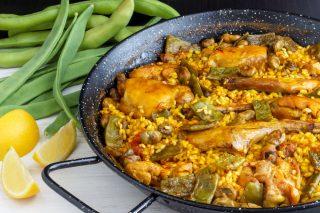 Paella di carne: la ricetta autentica di Vicente Rioja
