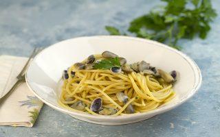Spaghetti con le telline: profumo di mare