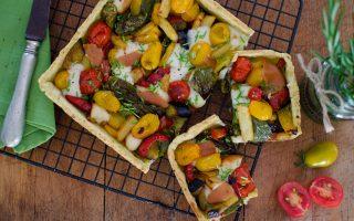Torta salata alle verdure: colorata e salutare