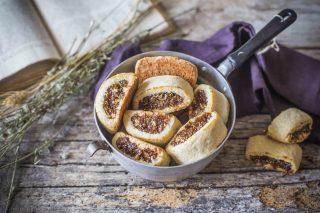 Biscotti ripieni di fichi: snack goloso