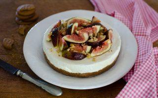 Cheesecake ai fichi: l'estate sta finendo