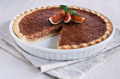 Crostata di fichi e noci: la ricetta di Cotto e Mangiato