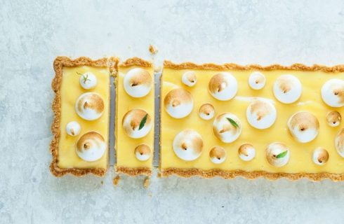 Crostata meringata al limone senza cottura, la ricetta