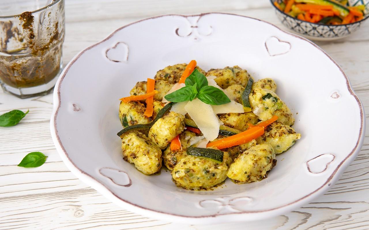 Ricetta Gnocchi Con Ricotta Salata.Ricetta Gnocchi Di Ricotta E Zucchine Delicati Agrodolce
