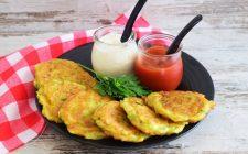 La ricetta dei pancake di zucchine di Simone Rugiati