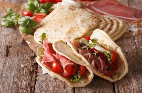 La piadina romagnola con la ricetta di Detto Fatto