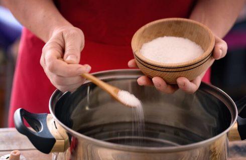 Quanto sale va messo nella pasta?
