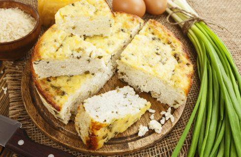 La ricetta della torta di riso salata di Anna Moroni