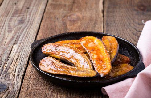 Banane caramellate: dessert veloce