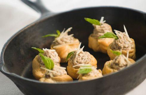 I bignè ai funghi porcini della Prova del Cuoco