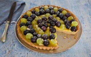 Crostata all'uva: per la fine dell'estate
