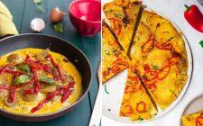 La ricetta della frittata di patate e peperoni