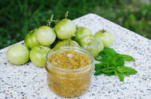 Marmellata di pomodori verdi, ricetta e come usarla