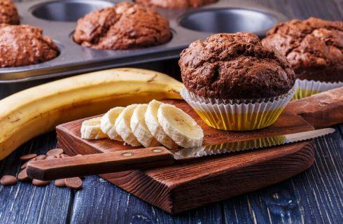 Muffin ciocco banana di Anna Moroni, la ricetta facile