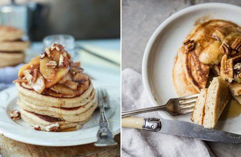 La ricetta dei pancake alle mele