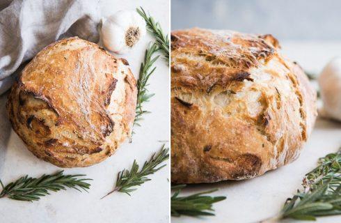 Pane con noci e rosmarino: la ricetta
