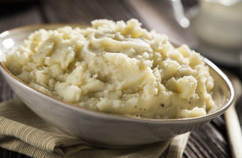 Come fare il purè di patate con olio