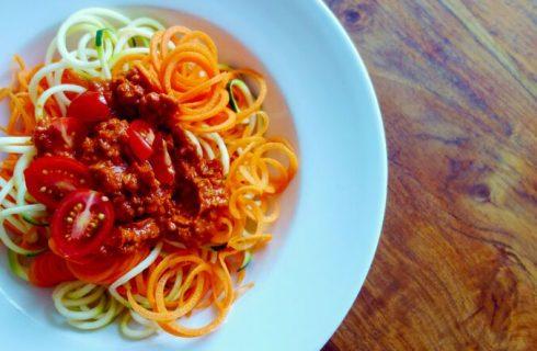 La ricetta del ragù di soia di Marco Bianchi
