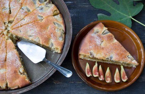 La torta di fichi e mandorle di Anna Moroni