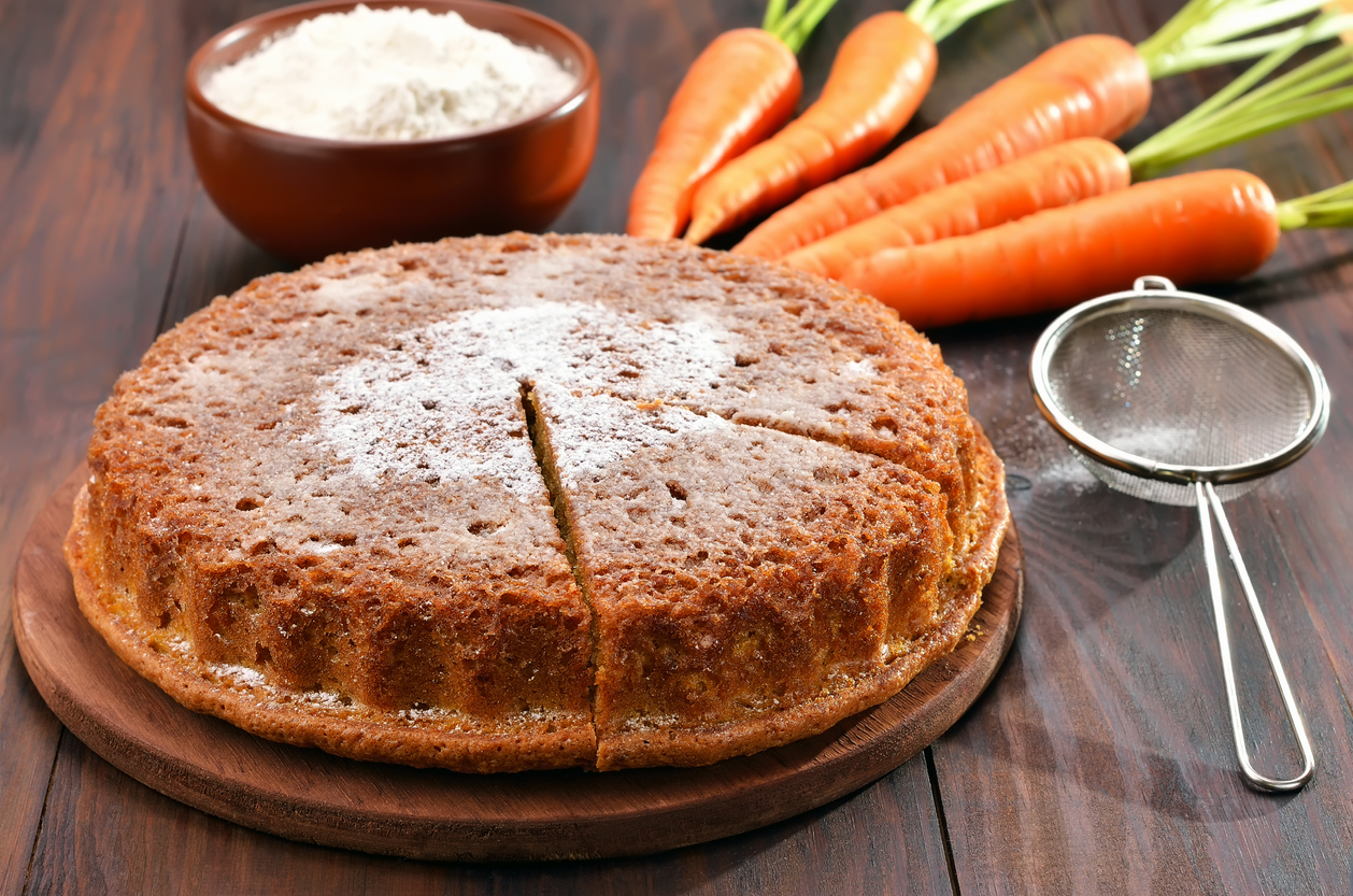 La ricetta della torta zucca e carote per Halloween