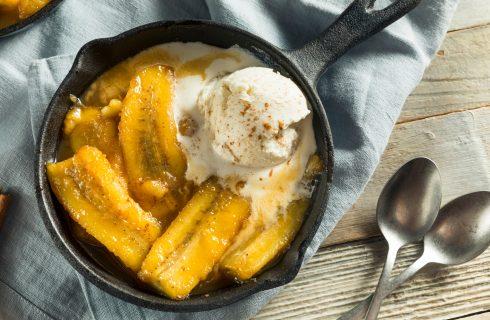 Banane flambé: dessert semplicissimo