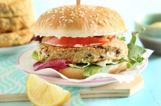 Burger di sgombro: leggeri