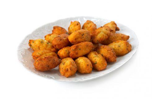 Crocchette di baccalà alla portoghese