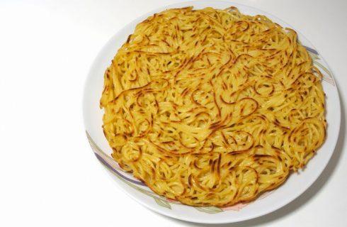 La ricetta della frittata di spaghetti avanzati