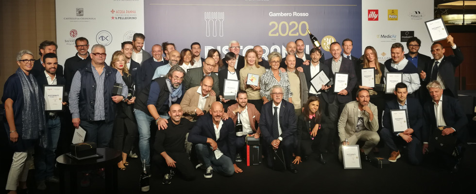 Gambero Rosso 2020: i migliori ristoranti d'Italia