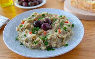 Melitzanosalata: la salsa greca a base di melanzane
