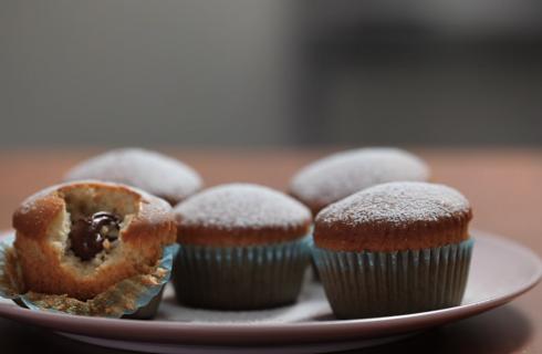 Muffin con cuore di nutella: per qualsiasi occasione