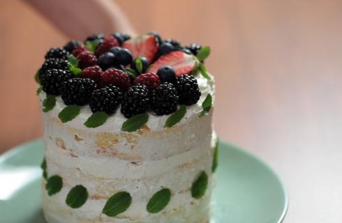 Naked cake: l'eleganza della semplicità