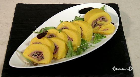 Il rotolo patate speck e funghi con la ricetta di Cotto e Mangiato