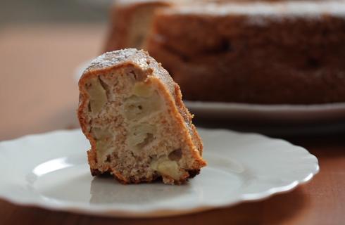 Ciambella di grano saraceno e mele: senza glutine