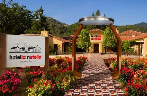 Nutella apre un albergo a tema e lo chiama Hotella